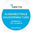 ARTIK Logo - Zertikat für klimaneutrale Hausverwaltungen